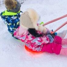 Детский лыжный костюм; детский брендовый ветрозащитный водонепроницаемый теплый зимний комплект для мальчиков и девочек; зимняя куртка для катания на лыжах и сноуборде; штаны