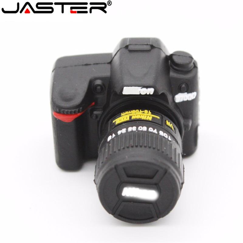 JASTER Pendrive Usb 2.0 Flash Drive 4gb 8gb 16gb 32gb 64gb Usb Flash Drive 128gb Cartoon SLR Camera Usb Memory