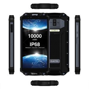 "Image 3 - OUKITEL WP2 10000mAh IP68 Waterproof Dust Shock Proof Mobile Phone Octa Core 4GB 64GB MT6750T 6.0"" 18:9 Fingerprint Smartphone"