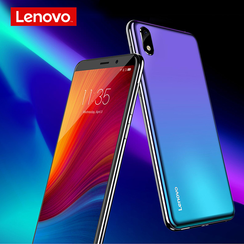 Image 5 - Lenovo Smartphone A5S 5.45 Inch MTK6761 Quad Core Mobile Phone 2GB 16GB Android 9.0 Face Unlock 4G Phone 3000mAh-in Cellphones from Cellphones & Telecommunications