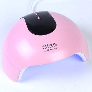 Image 3 - 24W 12 נוריות מנורת נייל מניקור USB אוטומטי חישה נייל מייבש לרפא כל ג ל פולני UV מנורת LED מהיר ייבוש ציפורניים כלים LAStar8