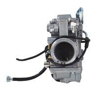 Smoothbore Carburetor For MIKUNI HSR45 45mm Carb Harley EVO Twin Cam TM45 2K