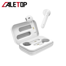 CALETOP TWS Bluetooth 5.0 Earphone Hifi 3D Sound Earbud with Microphone Handsfree Binaural Calling Touch Control Noise Reduction