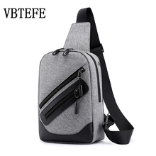 VBTEFE 2020 New Running Waterproof Mens Waist Bags Large Capacity Casual Male Sh