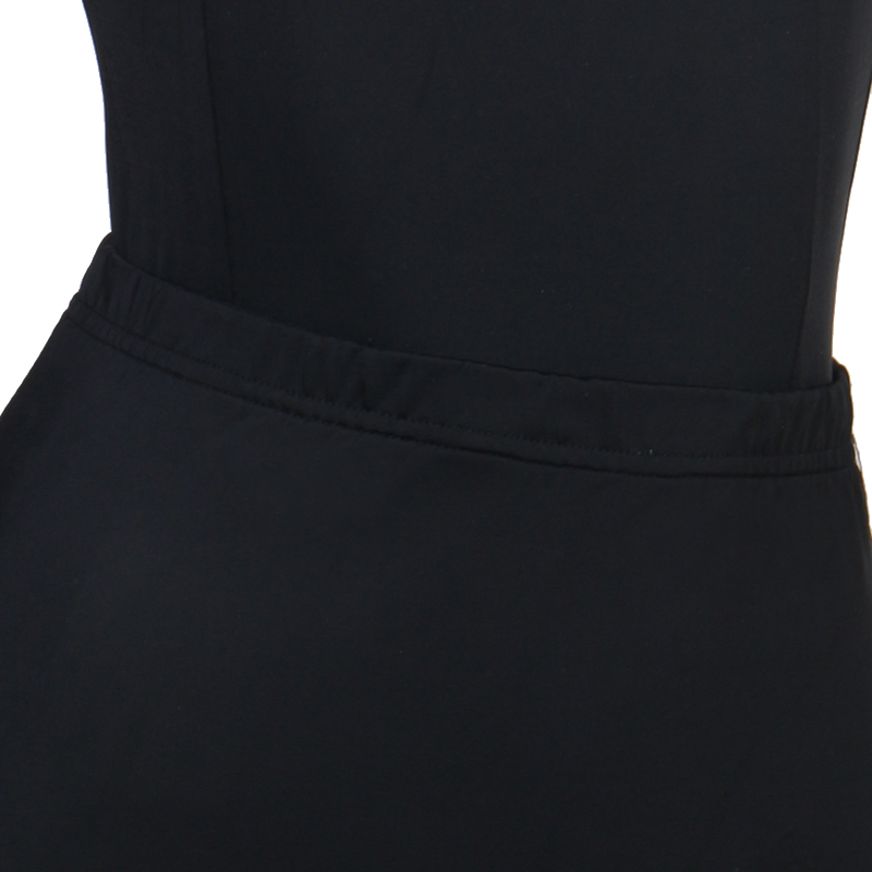 CACARE Ballroom Dance Competition Dresses Waltz Dress Standard Dance Dresses Top Skirt Set D0438 Big Ruffled Hem Mesh Sleeve