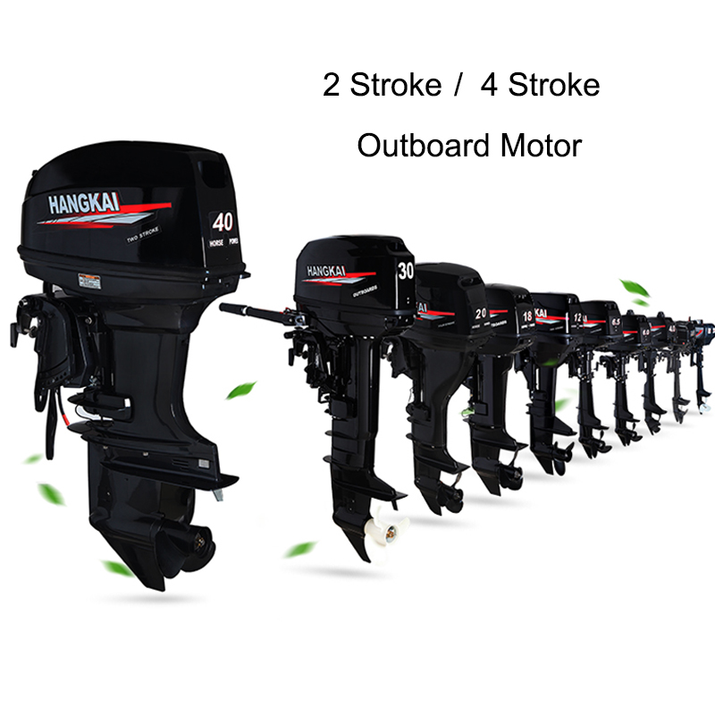 2 Stroke 4 Stroke 4HP 6HP 18HP Outboard Motor Boat Engine Water Cooling Air Cooling System New High Quality