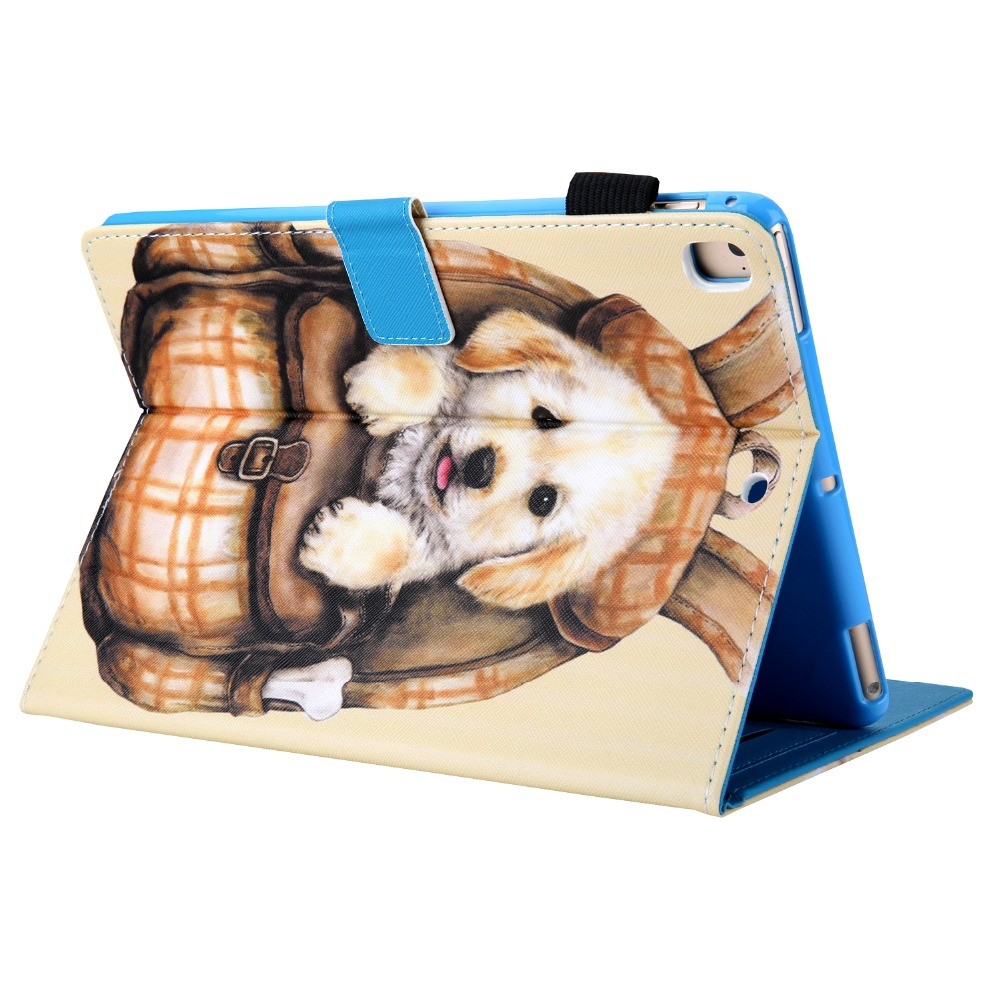 iPad 7th-Generation Magnetic-Stand Smart-Cover New Case Funda for 10.2 PU Tablet