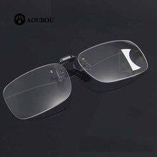Многофокальные очки для чтения с клипсой, с защитой от синего света, leesbril mannen gafas presbicia hombre lunnette de vue, очки для дальнозоркости