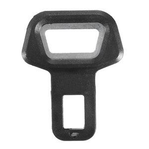 1pc Universal Car Safety Belt Buckle Clip Car Seat Belt Stopper Plug Vehicle Mount Bottle Opener Automobile Interior Accessories