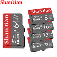 ShanDian Original Smart SD Card 64GB Class 10 Memory Card SmartSD 8GB 16GB 32GB TF Card SmartSDHC SDXC for Smartphone Tablet PC cheap JASTER TF Micro SD Card CN(Origin) TF Micro SD Card High quality Available capacity approximately 90 -93 memory card Smart sd card