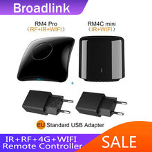 Broadlink RM4 Pro Bestcon RM4C Mini Universele IR Rf Afstandsbediening Compatibel Alexa Google Assistent For Ac 2020 NEW