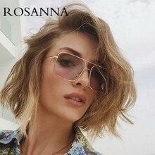 New Oversized Square Sunglasses Women Luxury Brand Designer