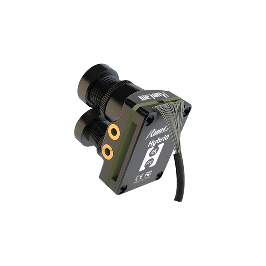 RunCam híbrido doble lente gran angular 4K HD Mini FPV cámara HD grabación FOV 145 grados 8MP Sensor para FPV Racing Drone - 2