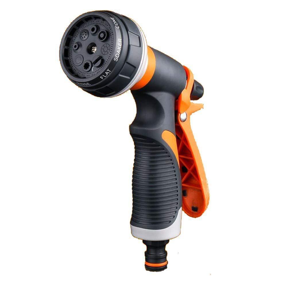 Eight Feature Water Gun Garden Plastic High Pressure Vehicle Cleaning Tool Garden Irrigation Sprinkler Amazon Hot Sales Hot Sell