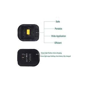 Image 4 - 14.4 v 18 マキタ用 12vバッテリー充電器充電器BL1415 BL1815 BL1830 BL1850 交換リチウム電池充電英国/eu/米国のプラグイン