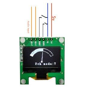 Image 3 - Mini 0.96 pouces OLED musique spectre affichage analyseur MP3 PC amplificateur Audio indicateur de niveau musique rythme analyseur VU mètre