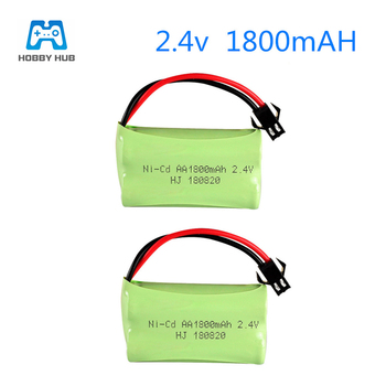 2/3/4PCS 2.4v 1800mah AA NI-CD Rechargeable battery for Remote Control toys electric toy lighting facilities RC toys 1800 mah 2. image