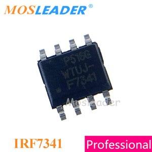 Image 1 - Mosleader IRF7341 SOP8 100PCS 1000PCS הכפול N channel 55V 4.7A Mosfet IRF7341TRPBF IRF7341PBF 7341 הסיני גבוהה איכות