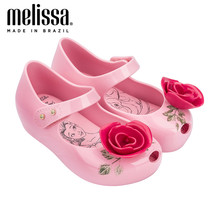 Mini Melissa Ultragirl Beauty The Beast Girl Jelly Shoes Sandals 2020 Baby Shoes Melissa Sandals Kids Zandalias Slides Shoes(China)