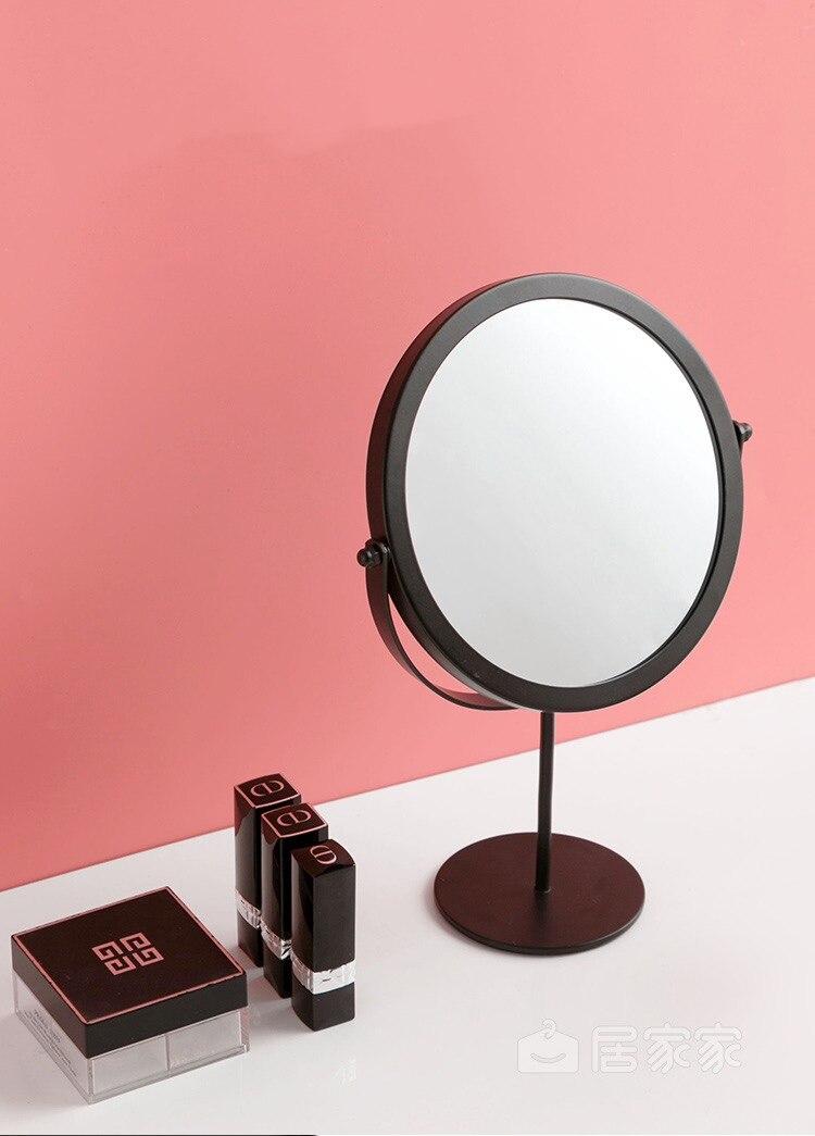 Metal nórdico Espelhos Decorativos de Parede Espelho