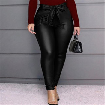 Fashion New Sexy Women Autumn Winter Leggings PU Leather Pants Stretchy Skinny Pencil Trousers High Waist Female Slim