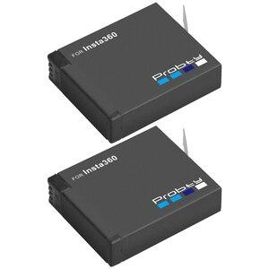 Image 4 - 3PCS für Insta360 ONE X akku + smart display ladegerät für Insta360 One X kamera zubehör