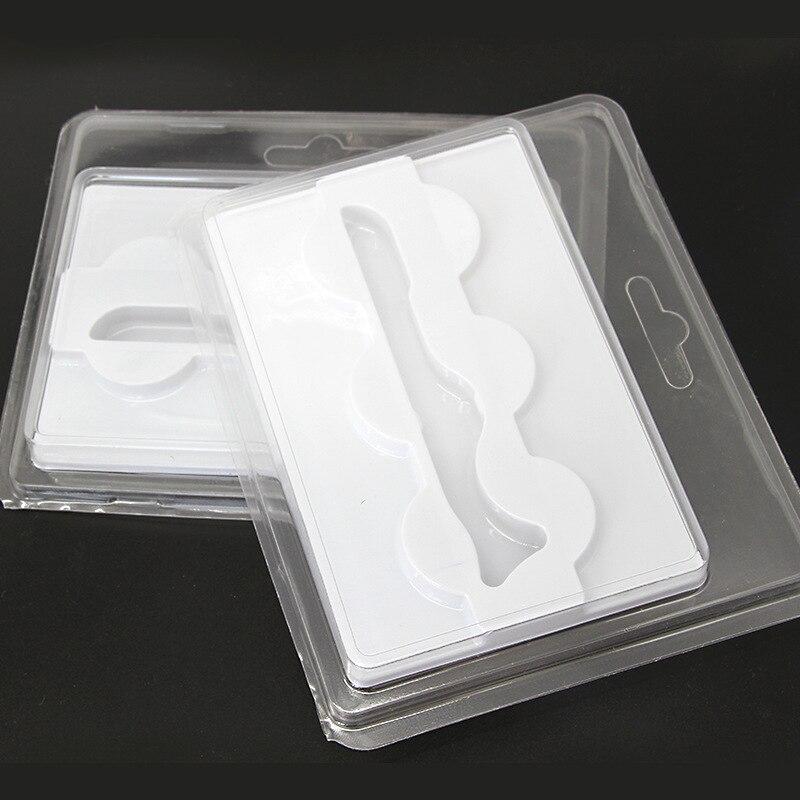 10 pcs 3 pares set 3d exibicao caixa de embalagem de cilios maquiagem cilios com uma