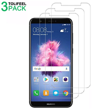 3 PCS Tempered Glass For Huawei P Smart Screen Protector 9H Phone