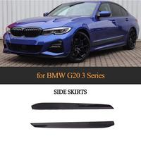 Car Side Skirts for BMW 3 Series G20 G21 M Sport 320d 330i 340i 2019 2020 Car Body Kits Side Skirts