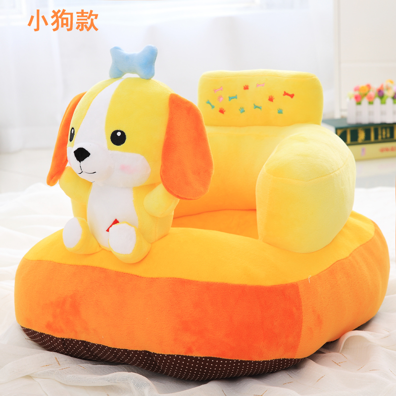 Baby Sofa Chair Cartoon Infant Learning Sitting Small Sofa Kindergarten Plush Tatami Drop-proof Removable Wash