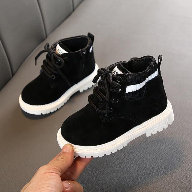 Automne hiver bébé filles garçons bottes infantile enfant en bas âge bottes enfant Martin bottes fond souple antidérapant enfants en plein air chaussures décontractées