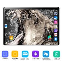 LTE Tablet 10inch Octa-Core New 4G 6GB 128GB IPS 6GB-RAM 128GB-ROM Tempered-Glass PC