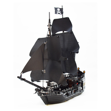 Pirates of the Caribbean The Black Pearl Ship 804pcs Compatible With bluilding block brick minfigured set toy for children compatible lepin legoing pirate ship 4148 lepin 16006 804pcs legoing movies pirates of the caribbean pirate ship building block