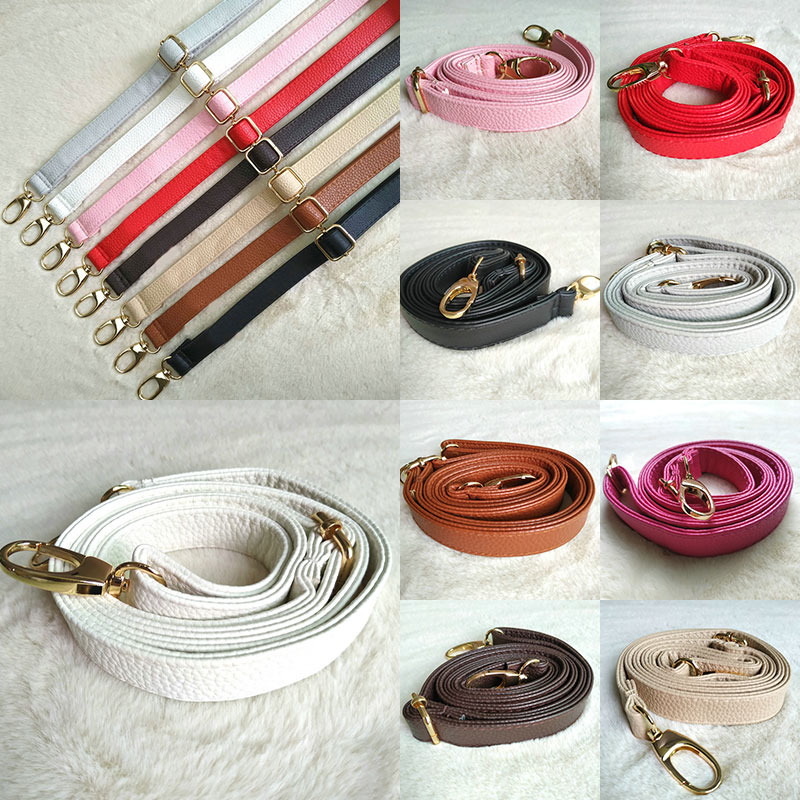New 130cm Long PU Leather Shoulder Bag Strap O Bag Handles DIY Purse Handle For Handbag Belts Strap Bag Accessories
