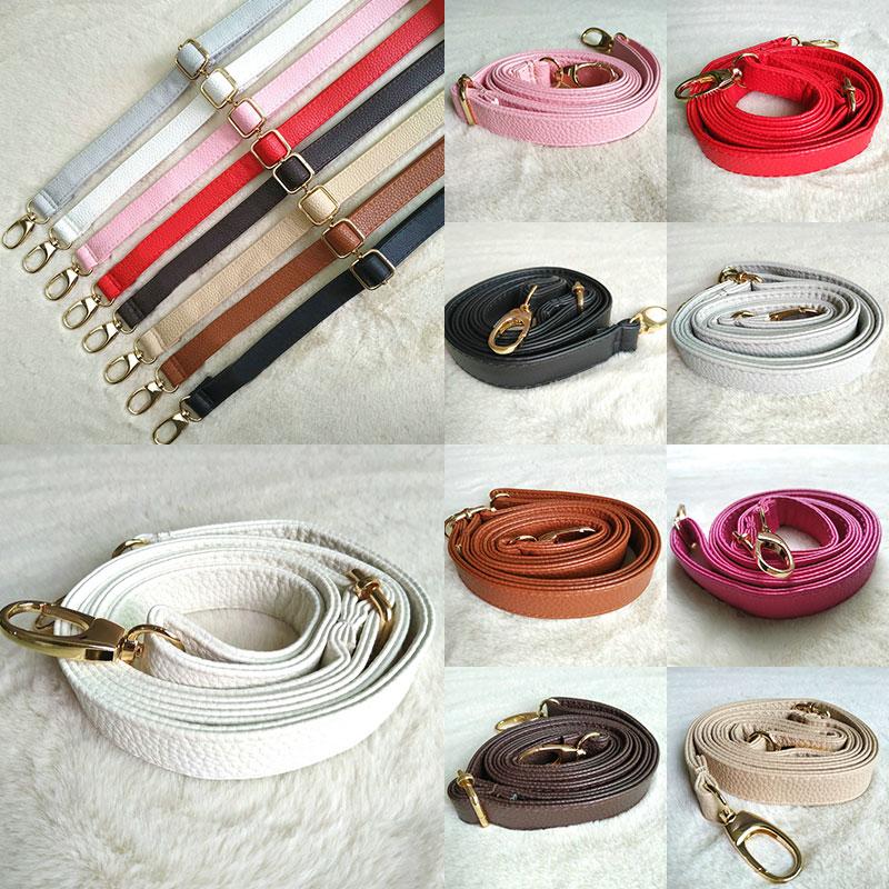 New 130cm Long PU Leather Shoulder Bag Strap O Bag Handles DIY Purse Handle For Handbag Belts Strap Bag Accessories