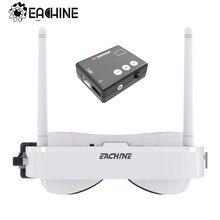 Eachine EV100 720*540 5.8G 72CH FPV Goggles White With Mini DVR 7.4V 1000mAh Battery RC Drone Remote