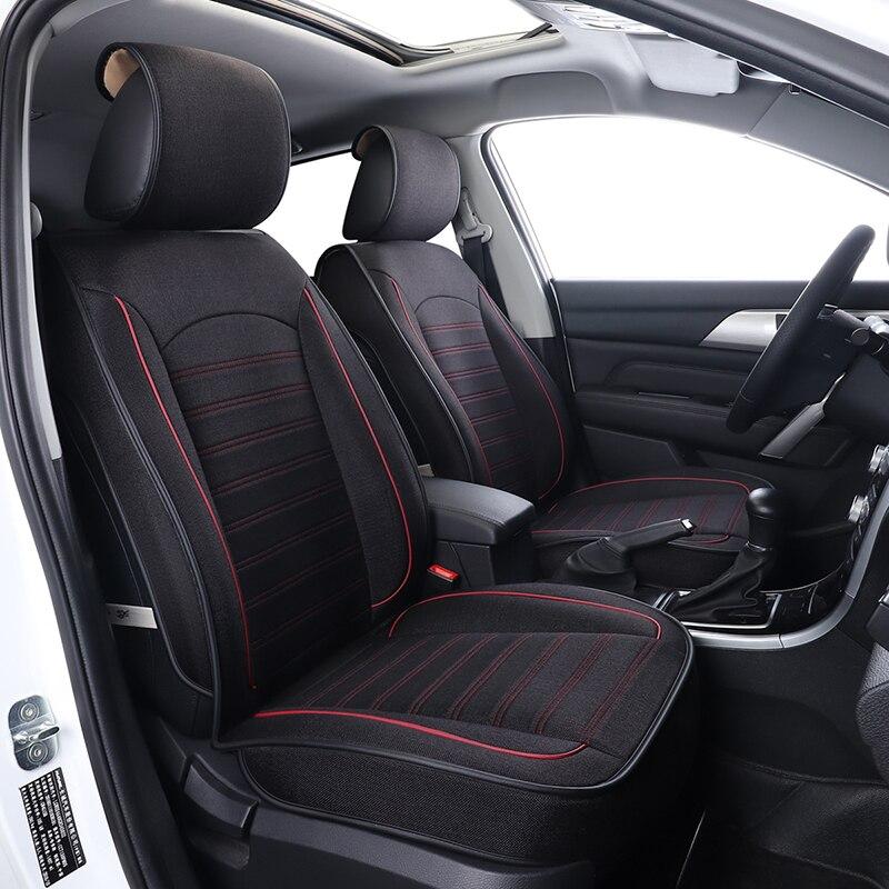 Housse de Siège De voiture D'accessoires Automatiques pour la Brillance Faw V5 Byd F3 S6 Cadillac Cts Srx 2009 2010 2012 2013 2014 2015 2016 2017 2018