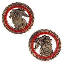 Американский США Marines памятная монета Медь коллекция из цинкового сплава, цинковый сплав