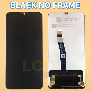 """Image 2 - Tela em LCD original de 6.21"""" para Huawei P Smart 2019, com moldura, peça de reposição 10 touch, touch screen digiziter assembly para POT LX1 L21 LX3"""