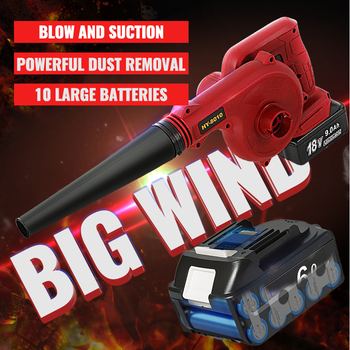Abeden Cordless Electric Air Blower Handheld Blowing with 8000mAh Lithium Battery Vacuum Clean Air Blower Handheld Leaf Computer abeden electric leaf blower 20v max lithium cordless sweeper 3 0 ah battery charger included turbo fan dust cleaner collector