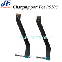 For Tab3 P5200 charging flex cable USB dock connector charger port for Samsung Galaxy Tab 3 P5210 10pcs/lot