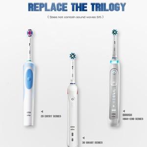 Image 4 - Têtes de brosse à dents électrique, accessoire Oral B, 12/16 pièces/paquet de brosse à dents électrique rotative remplaçable pour nettoyage dentaire