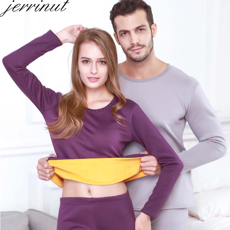 Jerrinut Plus Size Women's /Men's Thermal Underwear L XL 2XL 3XL 4XL 5XL 6XL Long Johns Male/Female Winter Underwear Set Warm