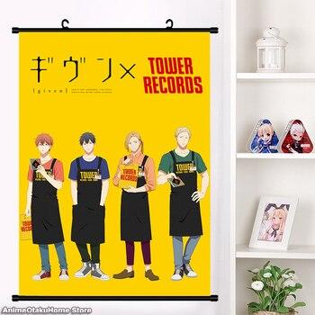 Anime Given Sato Mafuyu Uenoyama Ritsuka Nakayama Haruki Manga Wall Scroll Poster Otaku  Cartoon Home Decor Collection Art недорого