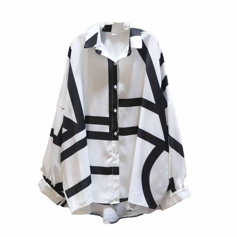 XITAO 2020 printemps nouvelles femmes hauts et chemisiers Style coréen loisirs ligne modèle grande taille femmes vêtements mode chemise GCC3232