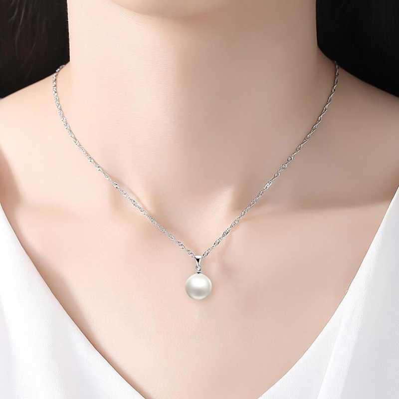 Perle di cristallo Insieme Dei Monili Charming Dell'orecchino Della Collana Dei Monili Set di Colori del Rhinestone di Modo di Goccia Orecchini di Perle Collana Set