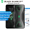 Global Version Xiaomi Black Shark 3 Pro 5G Gaming Smartphone 256GB 12GB Snapdragon 865 5000mAh 7.1 64MP 5G Game Mobile Phone