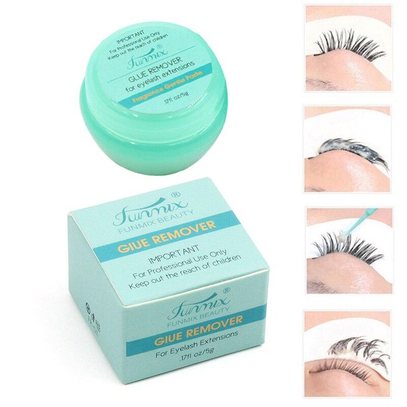 Professional False Eyelash Glue Remover Eyelash Extensions Tool Zero Stimulation False Lash Glue Remover Upgraded Version TSLM2