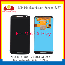 купить 10Pcs/lot LCD For Motorola X Play Display Assembly Touch Screen Digitizer For Moto X Play LCD XT1561 XT1561 XT1562 Replacement по цене 9906.31 рублей