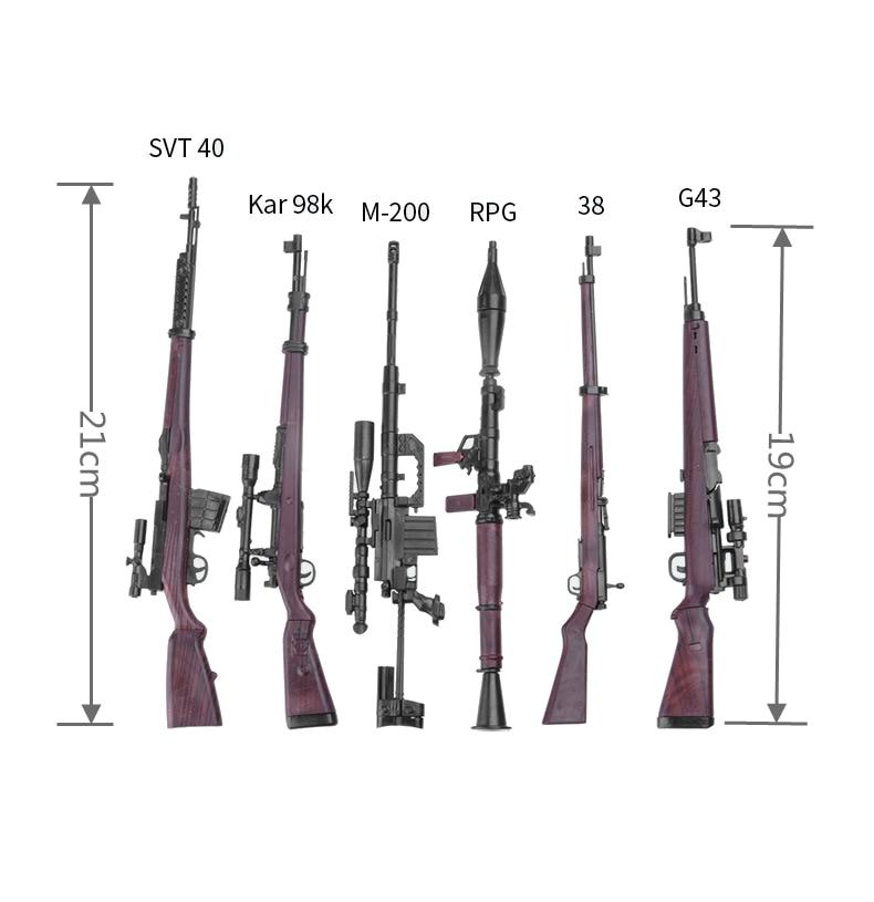 "1//6 Scale German 98K Rifle Plastic Weapon Model FIT 12/"" Action Figure"